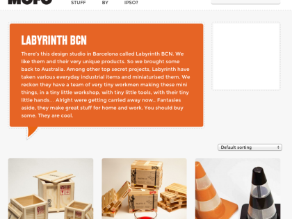 Labyrinth Design products arrive to Australia