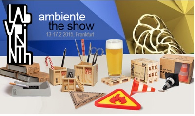 Taking off to the Ambiente Trade Show in Frankfurt